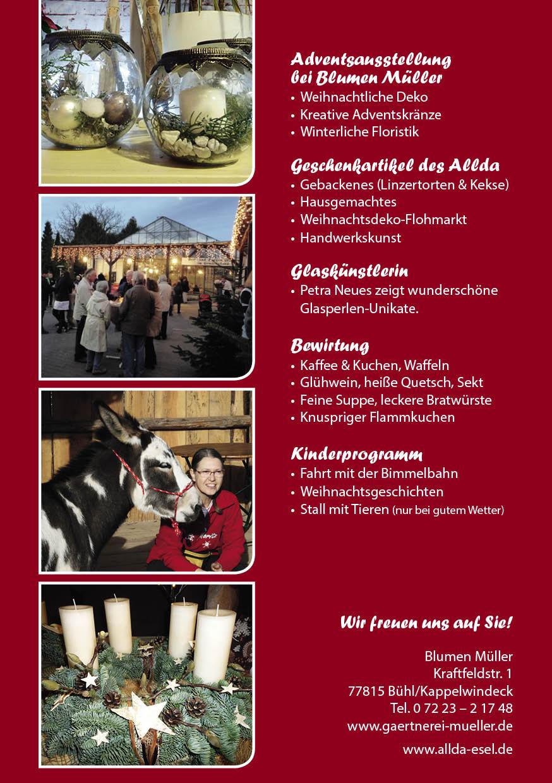 Müller Weihnachtsdeko.Wintermarkt